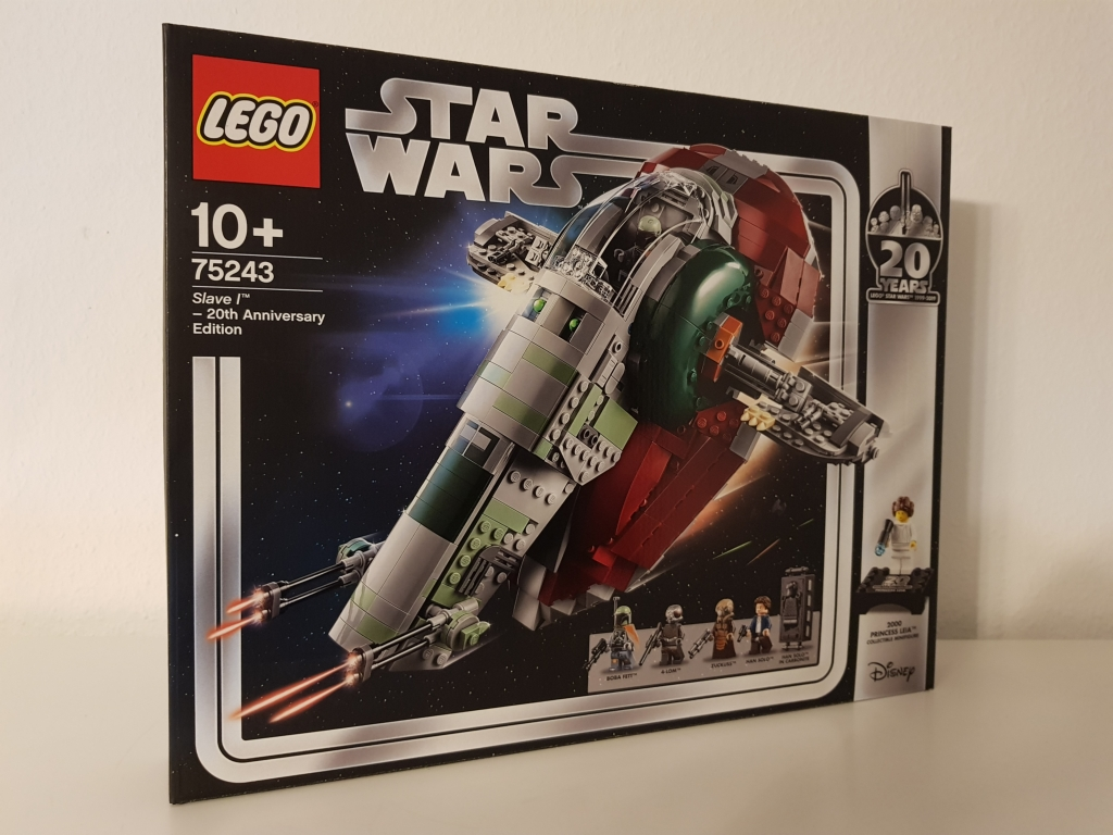 Bald wird das Slave I Raumschiff in Rente gehen. Zum Glück habe ich vorher noch mit einem guten Rabatt einkaufen können. Jetzt gehören mir 3 dieser Legosets und ich werde diese bald als Reseller verkaufen.