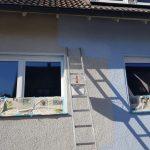 Fassade streichen - Selbst gemacht, viel gespart
