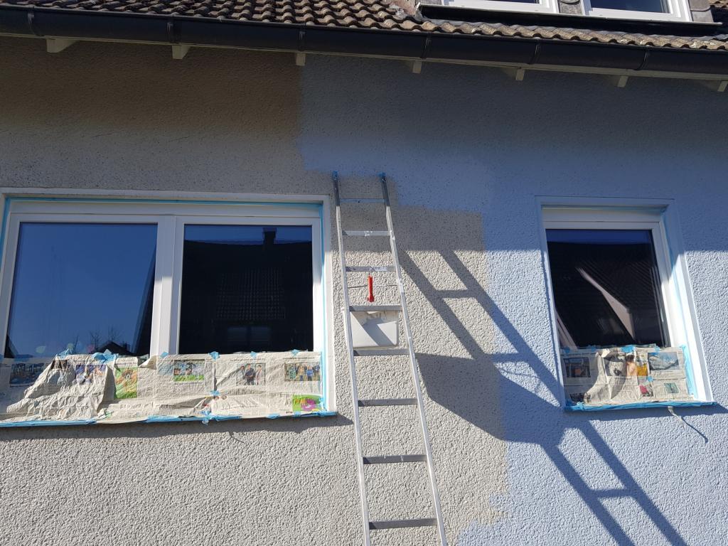 Fassade streichen – Selbst gemacht, viel gespart
